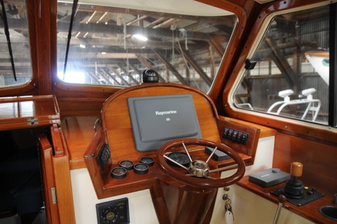 custom boat woodworking