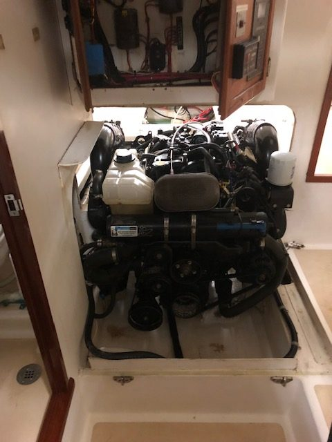 boat engine work